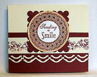 Sending a smile card