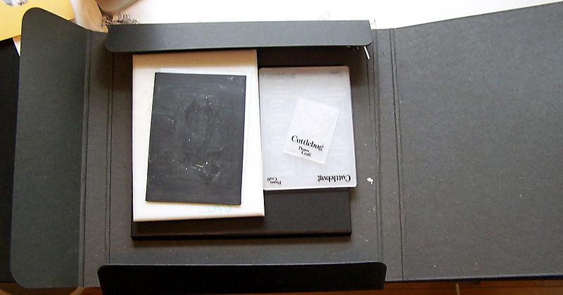 Large folder open