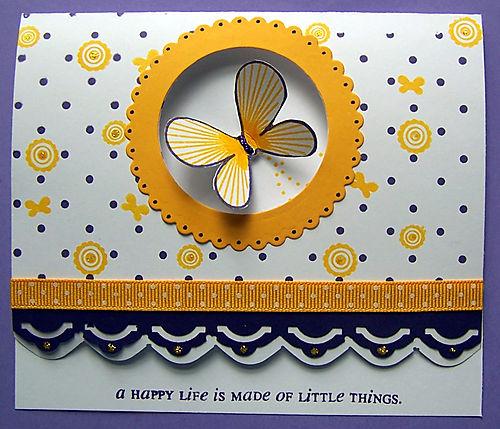 A Happy Life card swap