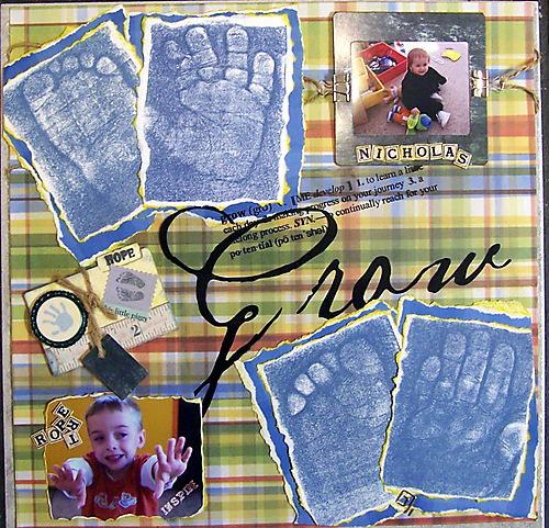 Magic Faom stamp layout