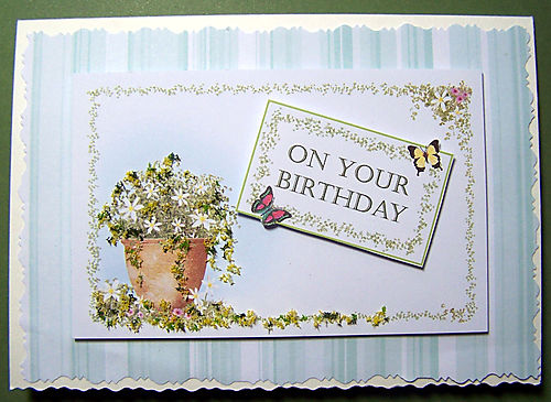 Birthday Topper Card