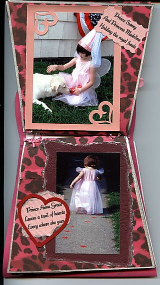 Princess album pgs 3 & 4