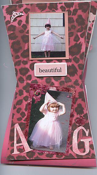 Princess album pgs 5 & 6