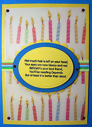 Mike's Birthday card
