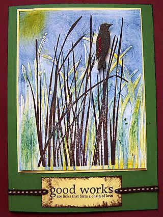 Bird Call Card