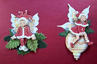 3-D two elfs