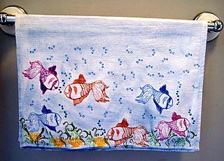 Something Fishy Towel