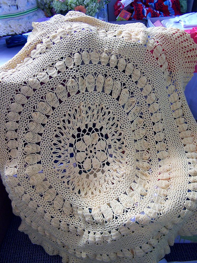 Kristen's baby blanket