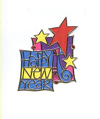 Happy new Year positive
