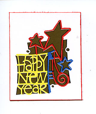 Happy new Year negative