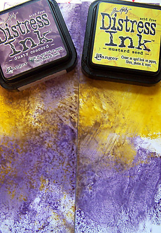 Distress ink pads smoosh