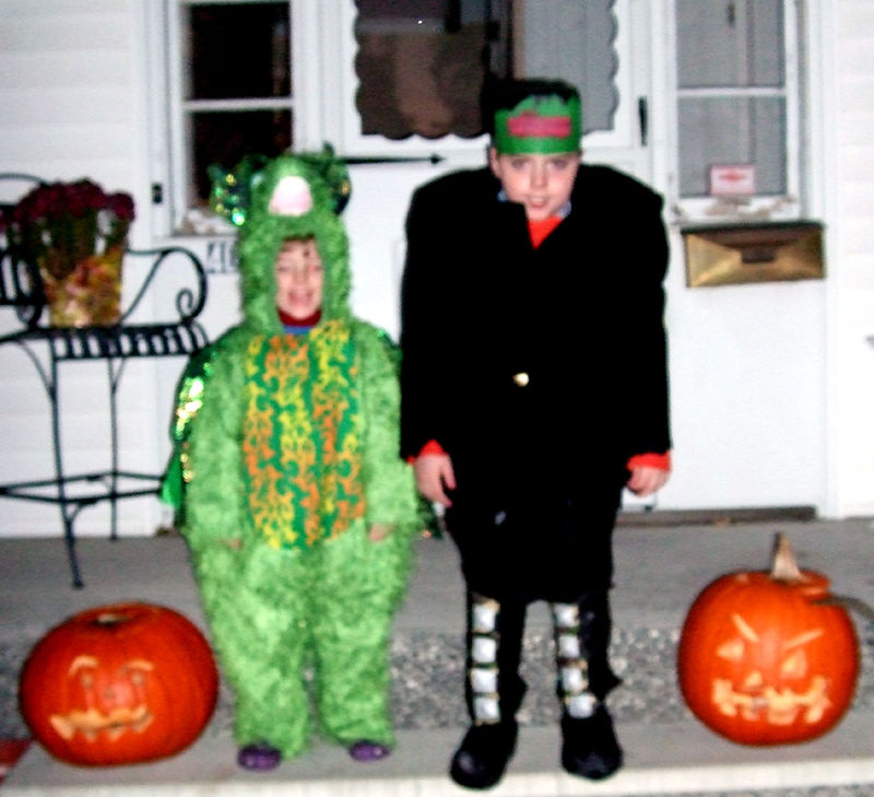 Halloween 2008 boys