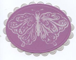 Grape slush butterfly