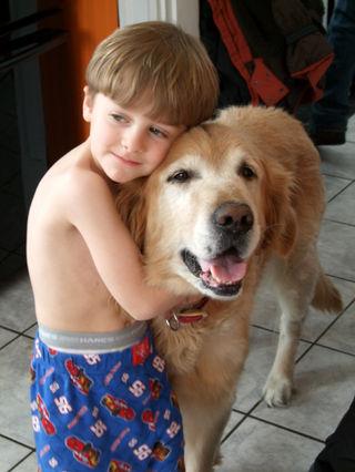 Nicholas & buddy