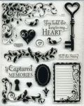 Key to my heart stamp set