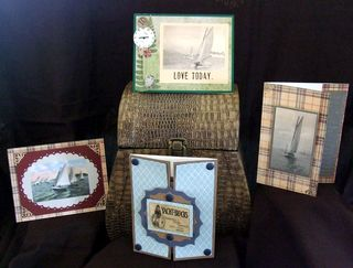 4 masculine cards